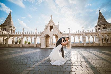Nicole & George Elegante Hochzeit